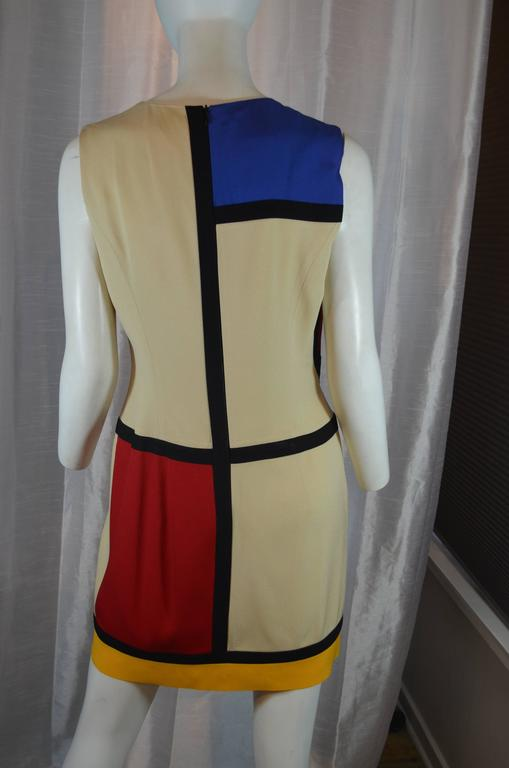 Moschino Art is Love Mondrian Dress 4