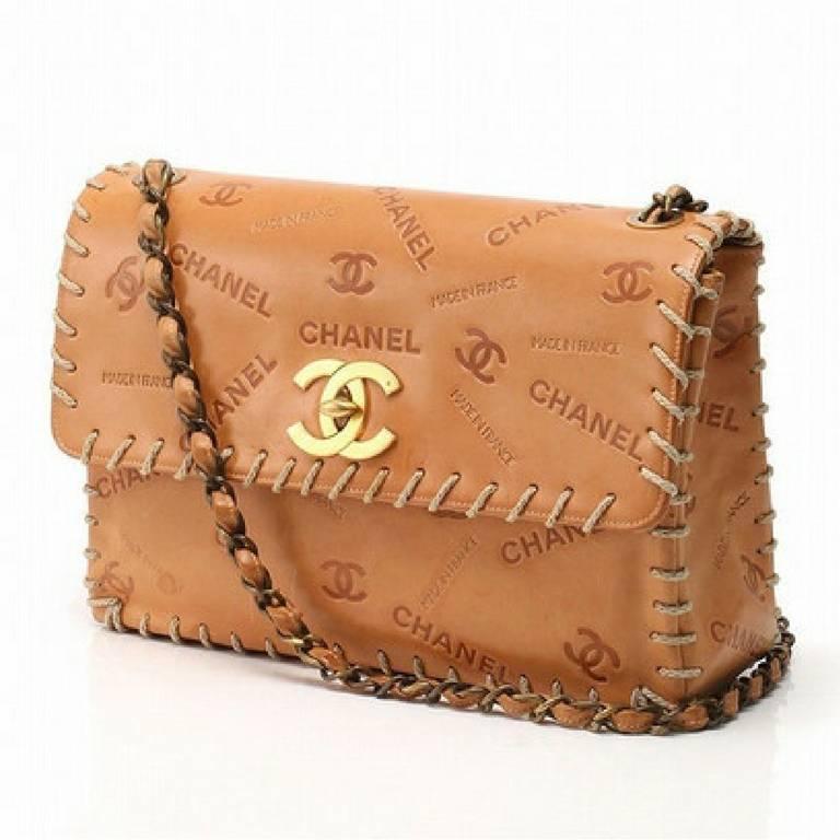 ece0ca417c25e Brown Chanel Purse Best Image Ccdbb. Chanel Vine Brown Lambskin Leather  Clic Medium Double Flap Bag