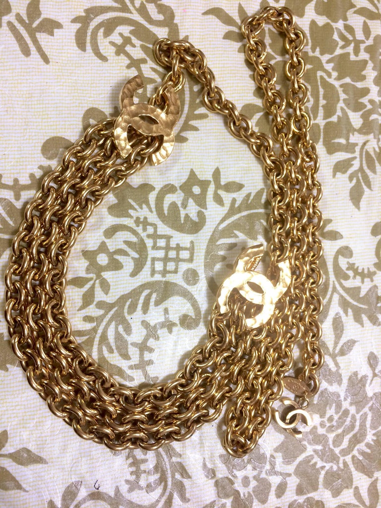 gold luxury chanel belt chain chains is what
