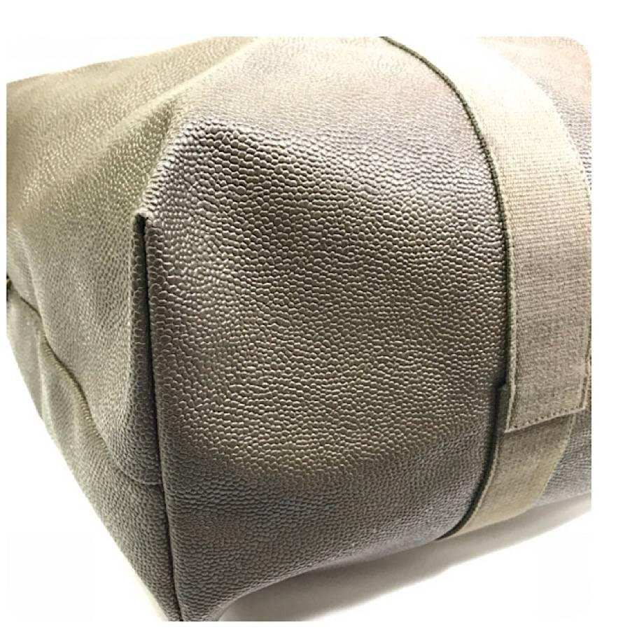... good brown vintage mulberry khaki dark green scotchgrain travel bag  duffle bag with strap for ca100 8f8d378746cf7