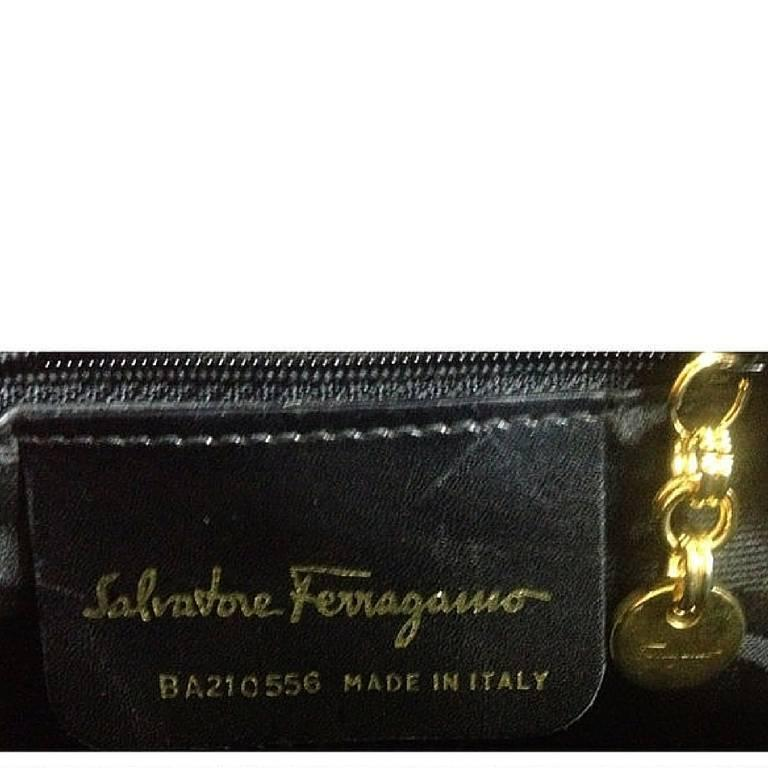 Vintage Salvatore Ferragamo vara motif wine, purple suede leather shoulder bag. For Sale 3