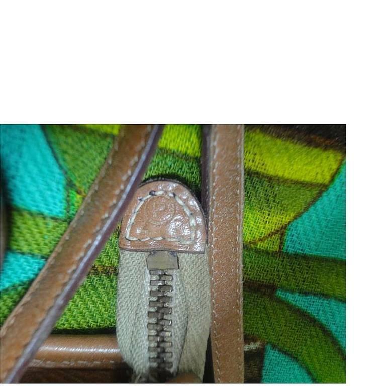 80's vintage HERMES tanned brown, courchevel leather, shoulder bag, clutch purse For Sale 1
