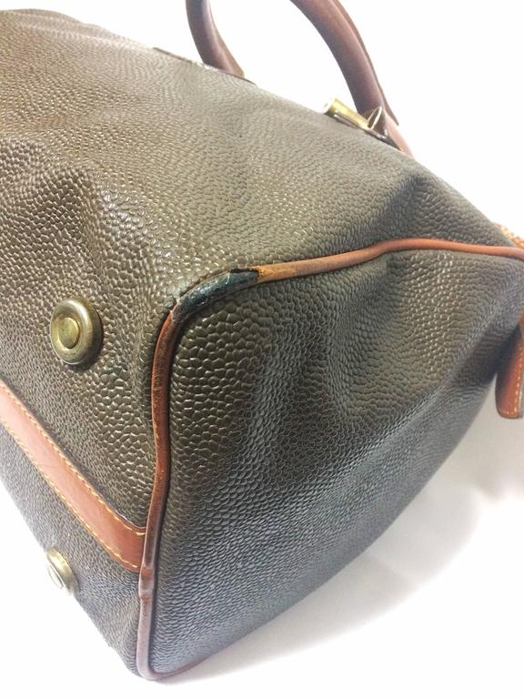 ... where to buy vintage mulberry khaki green scotchgrain duffle bag with brown  leather trimmings for sale ... 0ffff0042028d