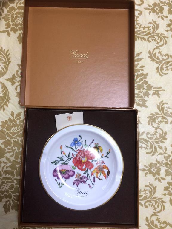 Mint 70 S Vintage Richard Ginori For Gucci Ceramic Plate