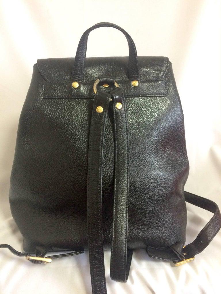 1a43490fe Vintage Mcm Black Backpack- Fenix Toulouse Handball