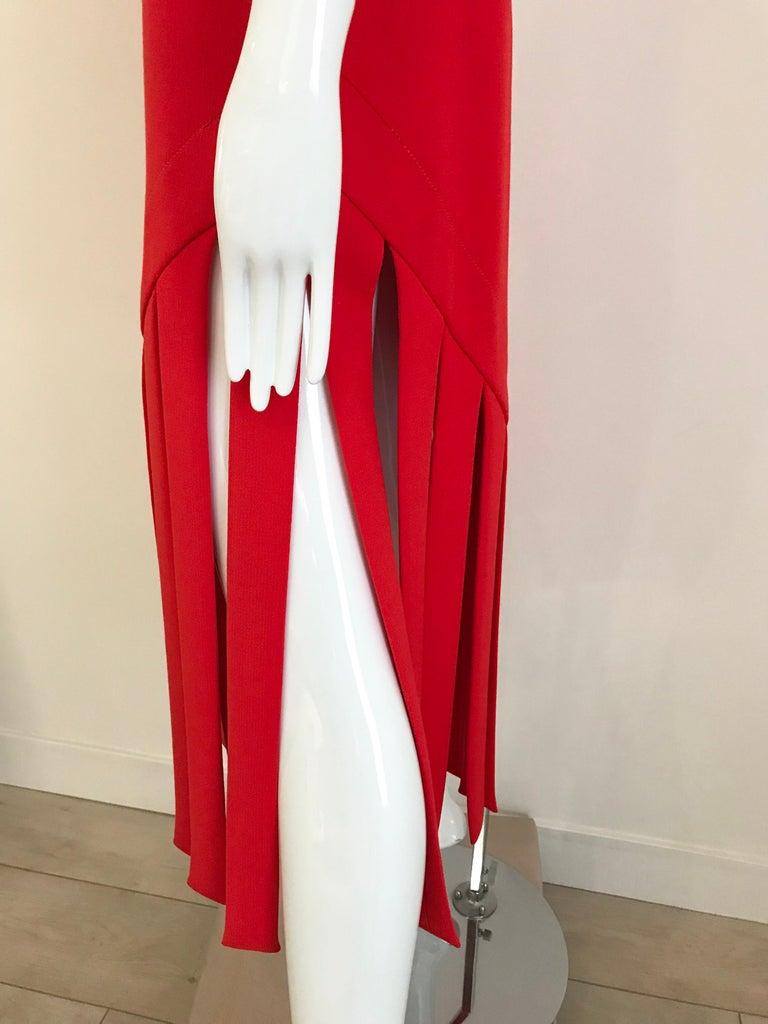 Vintage Pierre Cardin Sleeveless Crepe Dress  For Sale 4