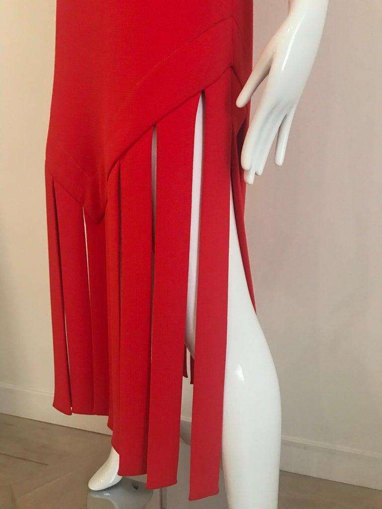 Vintage Pierre Cardin Sleeveless Crepe Dress  For Sale 5