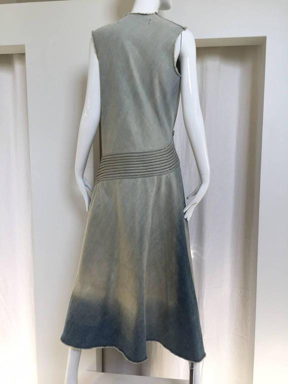 2000s Junya Watanabe denim dress 4
