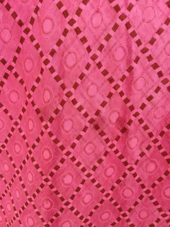 Women's 1930s Pink silk dress For Sale