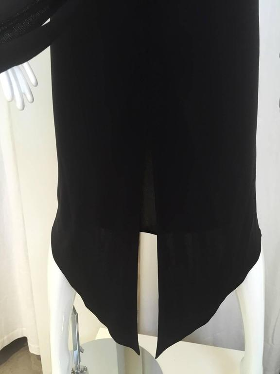 90S La Perla knit jersey dress  In Good Condition For Sale In Beverly Hills, CA