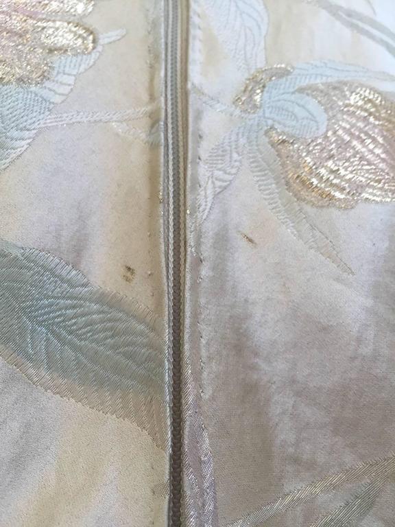 1960s CARDINALI silk brocade jacquard dress For Sale 1