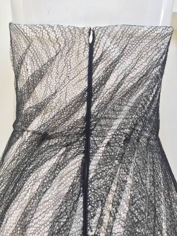 Alexander McQueen Tulle Overlay Runway Dress, 2007  For Sale 2