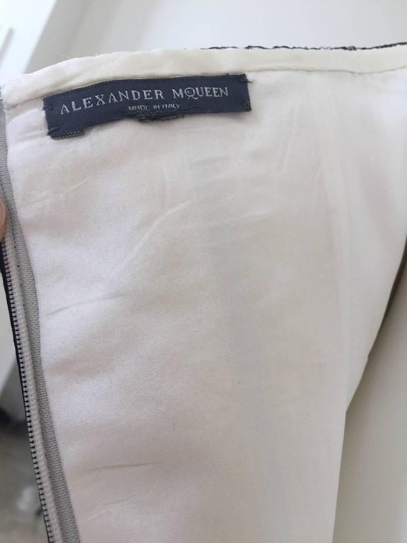 Alexander McQueen Tulle Overlay Runway Dress, 2007  For Sale 3