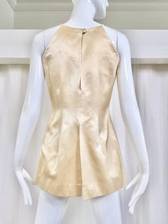 90s Sophie Sitbon Cream silk top 2