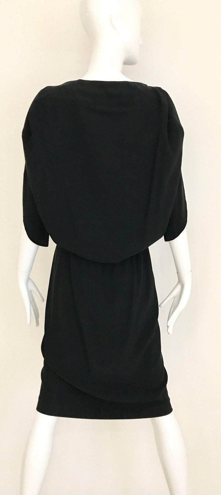 Women's MARGIELA Black Rayon Dress For Sale