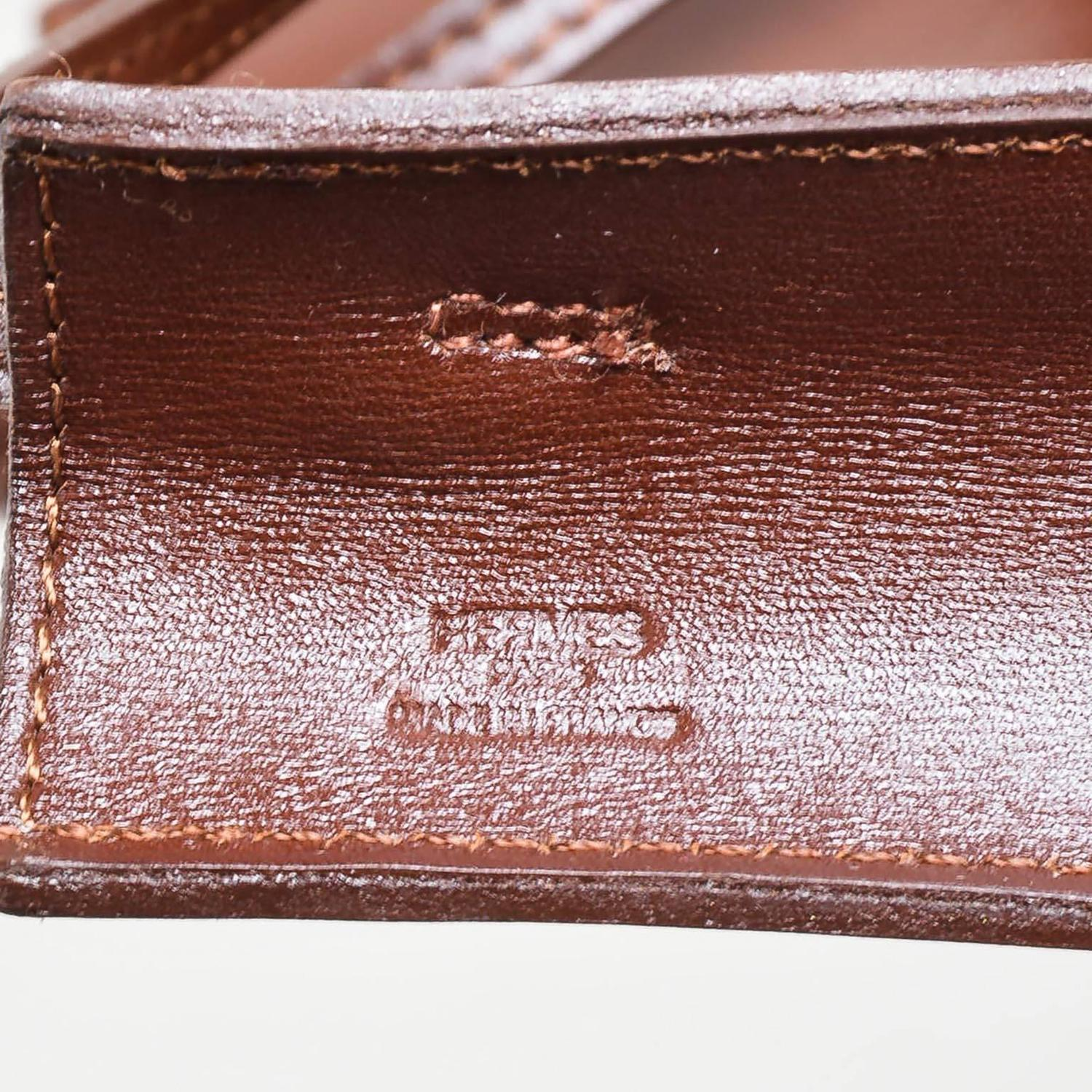 the kelly purse - Hermes Dark Brown Leather Onimaitou Flat Pouch Crossbody Shoulder ...