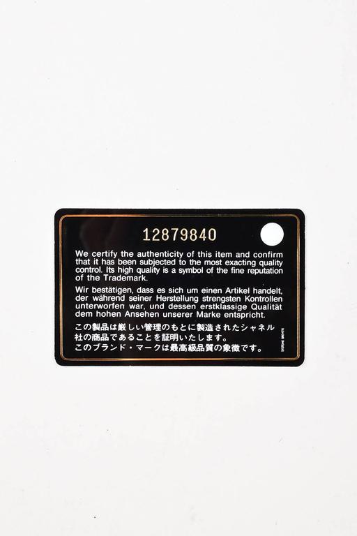"""Chanel Pink White Leather Ombre Degradé """"2.55 Reissue 227"""" Jumbo Handbag 9"""