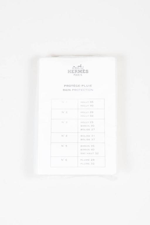 "Hermes Burgundy Red Leather Palladium Top Handle ""JPG Birkin 42"" Bag 10"