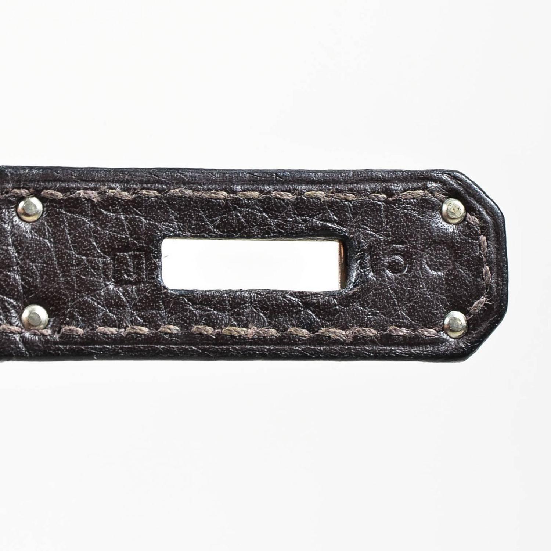 fake hermes kelly bag - Hermes SHW Brown Togo Leather and Natural Crinoline 40 cm Birkin ...