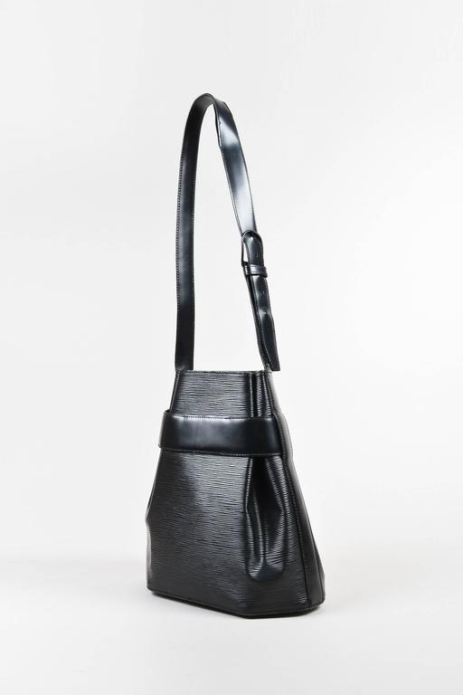 Vintage Louis Vuitton Black Epi Leather Crossbody Quot Sac D