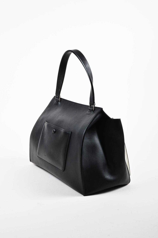 best quality replica celine bags - celine white leather handle bag, celine micro luggage bag price