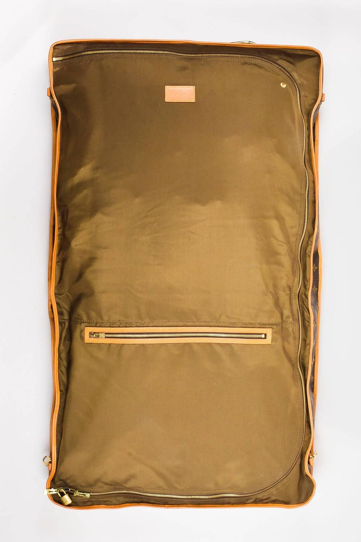 vintage louis vuitton brown monogram canvas quot garment