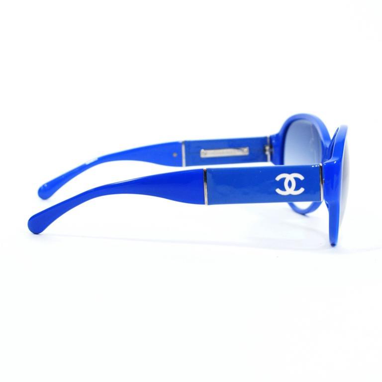 Chanel Royal Blue Sunglasses 3