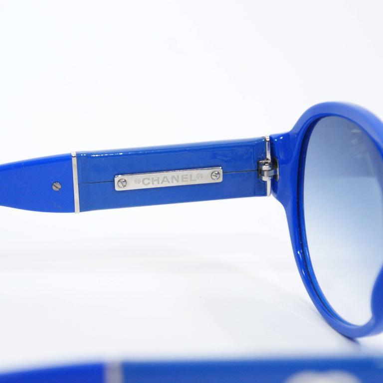 Chanel Royal Blue Sunglasses 4