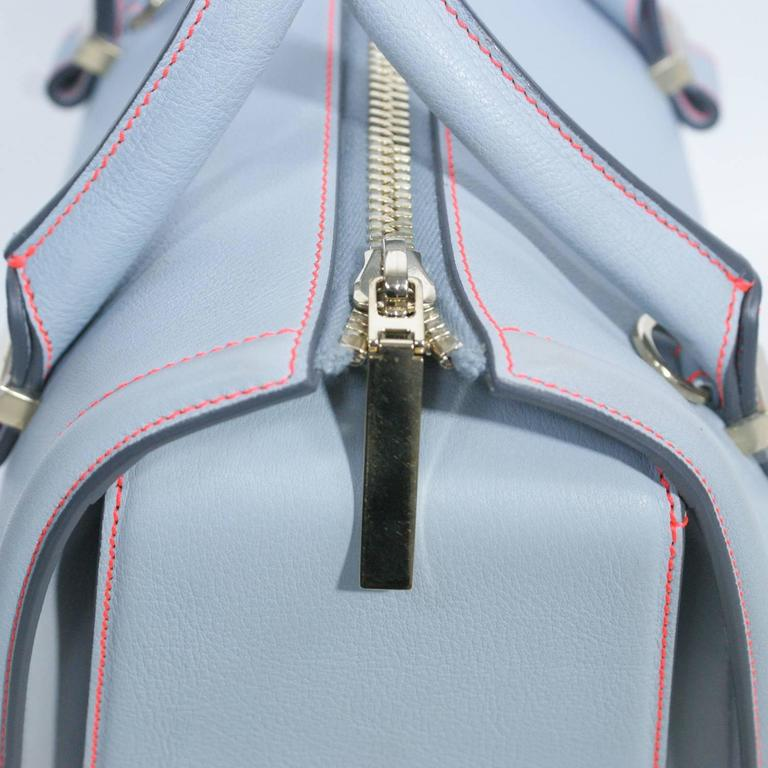 Victoria Beckham Light Blue Tote Handbag  2