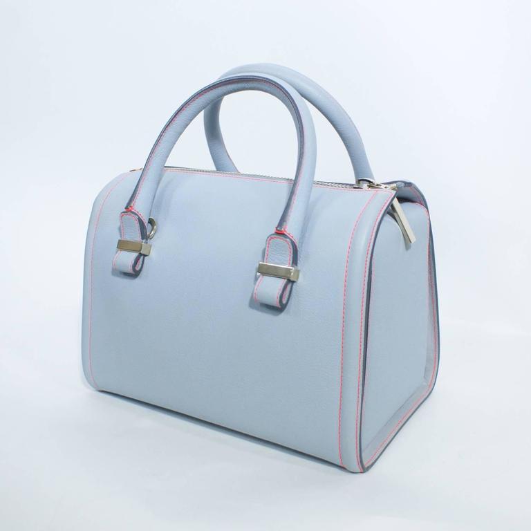 Victoria Beckham Light Blue Tote Handbag  4
