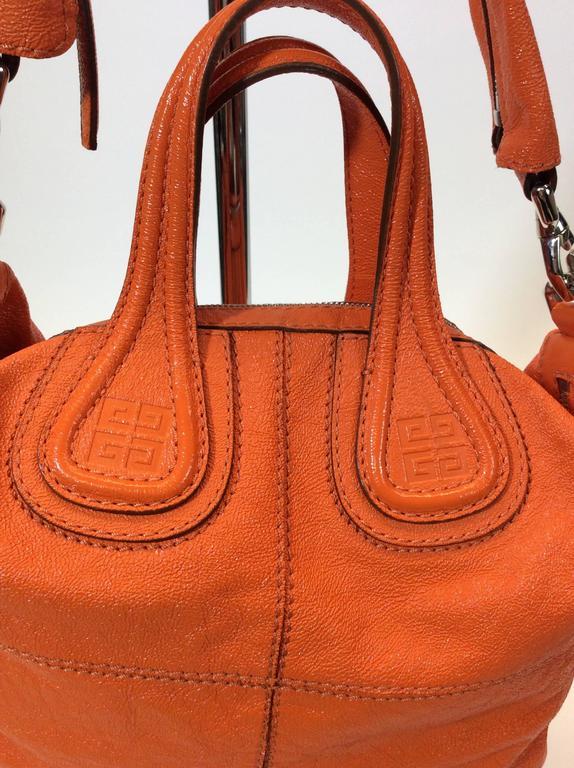 4f7d6c27254f Givenchy Orange Leather Hobo Bag For Sale at 1stdibs