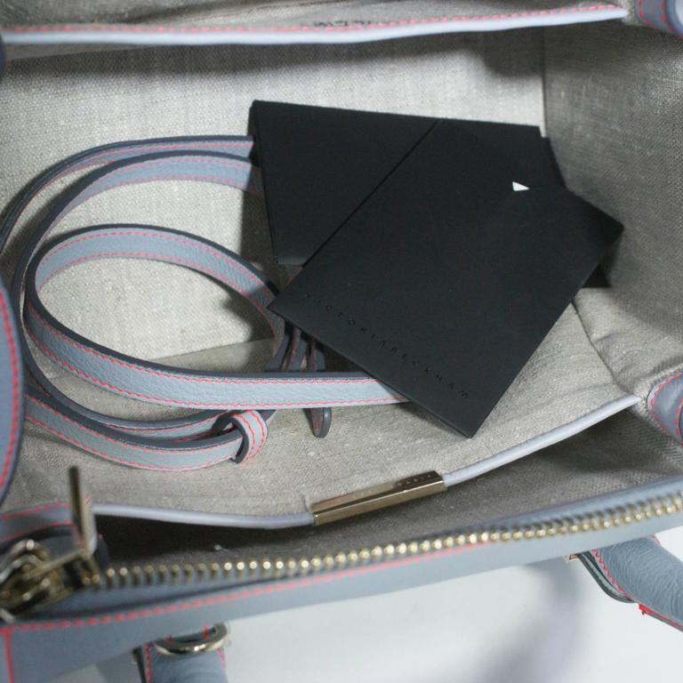 Victoria Beckham Light Blue Tote Handbag  6