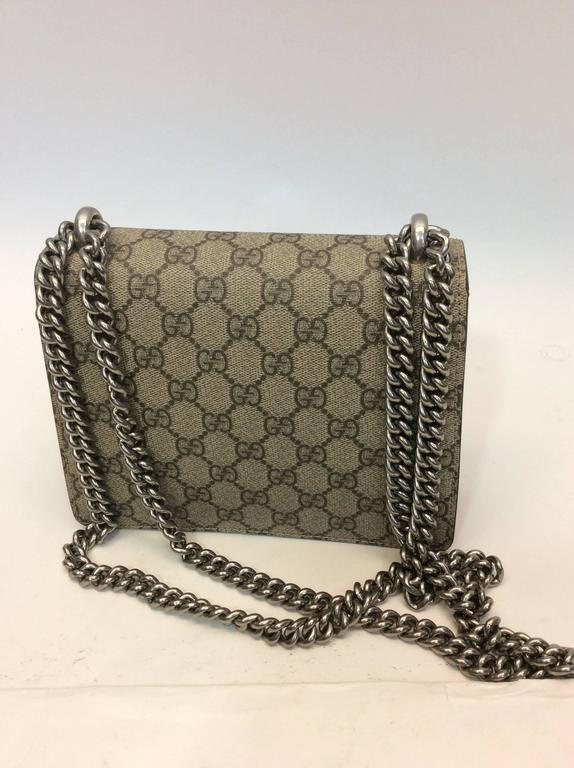Gucci Print Snake Detail Crossbody Bag In New Condition For Narberth Pa