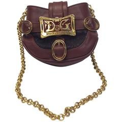 Dolce & Gabbana Gold Chain Small Crossbody