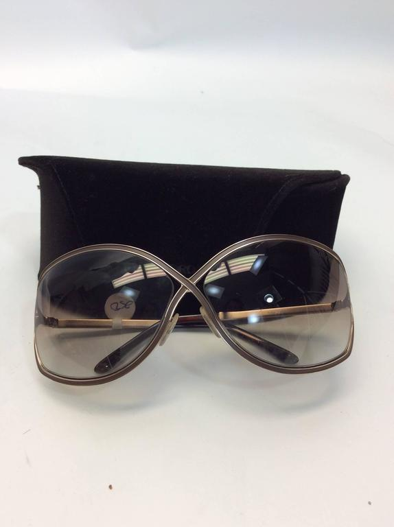 6fd0693785 Tom Ford Oversized Soft Round Sunglasses Oversized soft round plastic  sunglasses Cutaway lenses  250 Made in