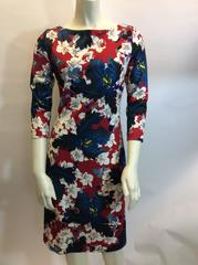 Erdem Floral Jersey Dress