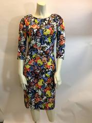 Erdem NWT Floral Wilhelmina Jersey Dress