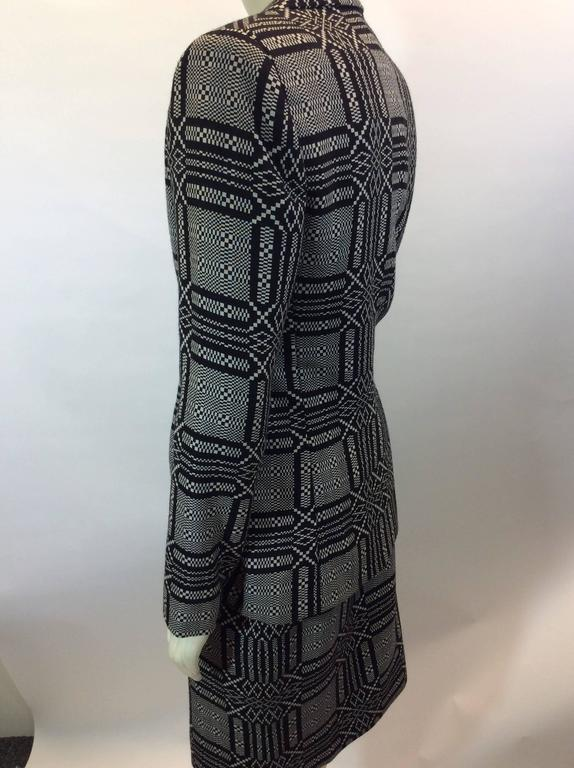 Bill Blass Printed Skirt Suit 3