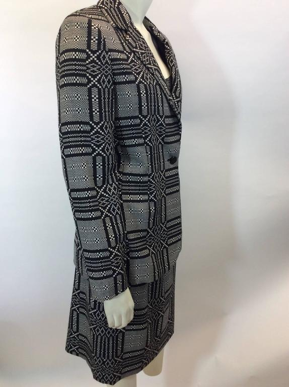 Bill Blass Printed Skirt Suit 4
