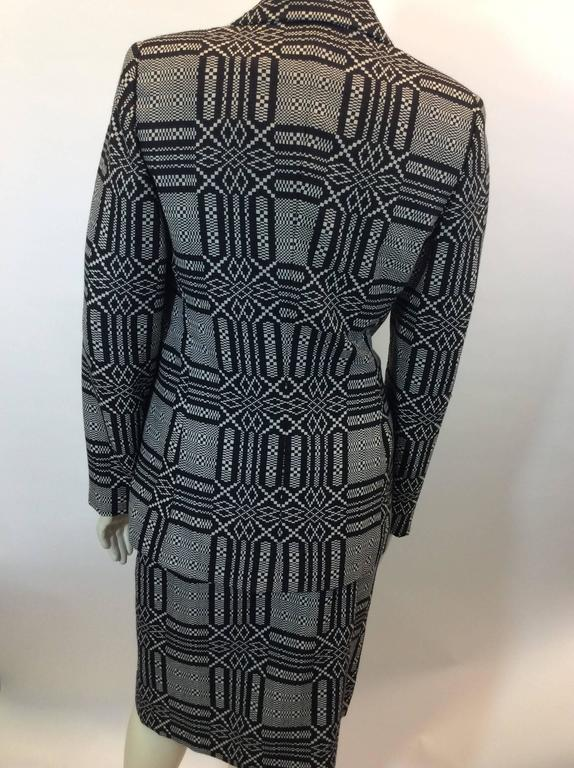 Bill Blass Printed Skirt Suit 5