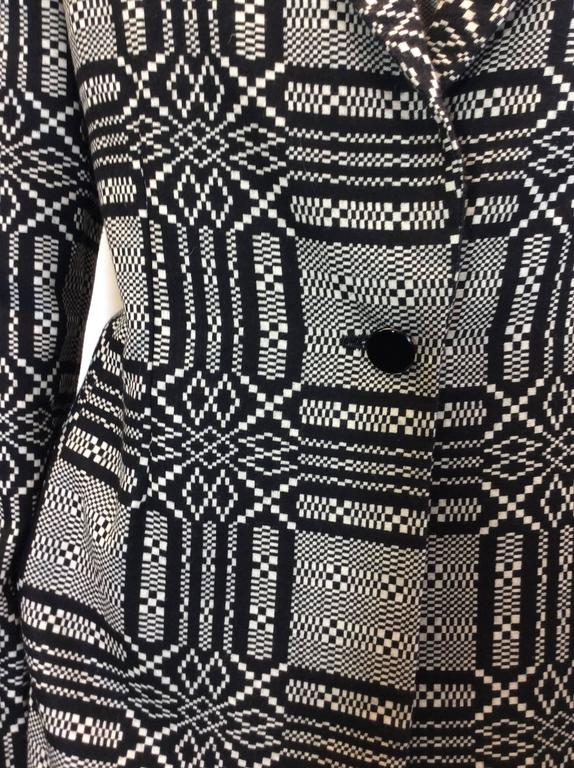 Bill Blass Printed Skirt Suit 6