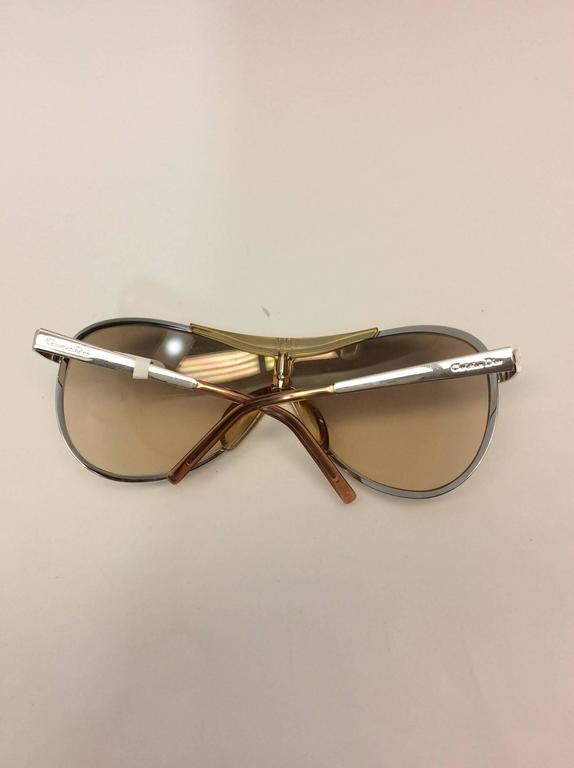 Women's Christian Dior Metal Golden Sunglasses For Sale