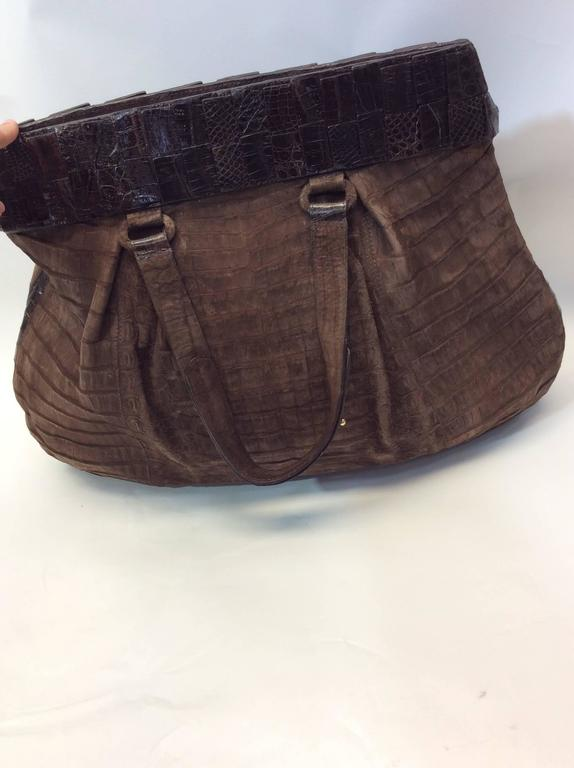 Women's Nancy Gonzalez Genuine Crocodile Purse For Sale