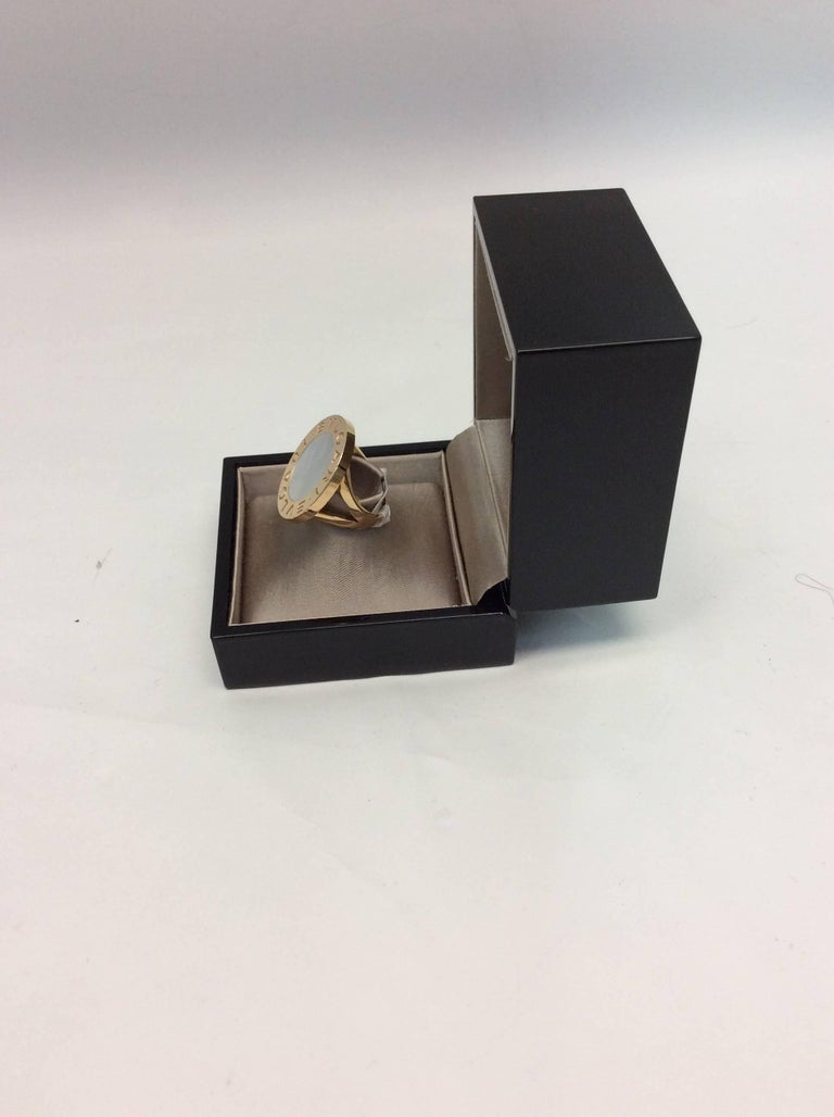 Mother Of Pearl Scarf Ring