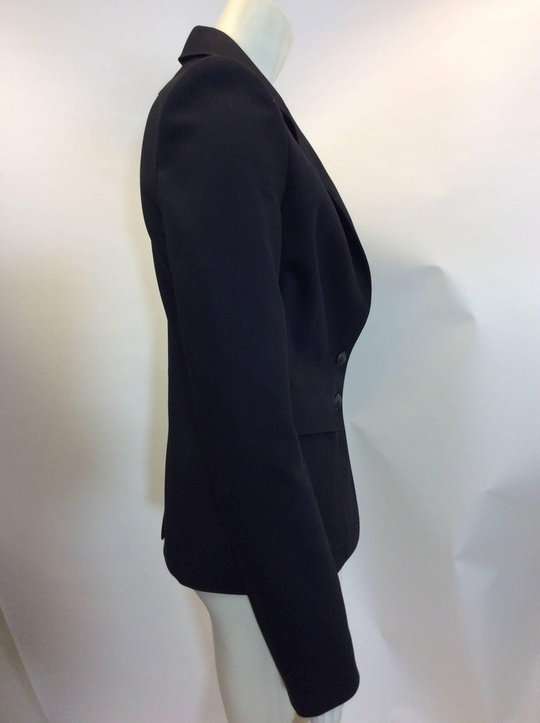Balenciaga Black Blazer In Excellent Condition For Sale In Narberth, PA