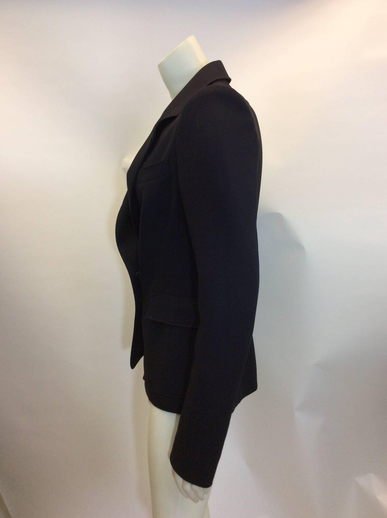 Balenciaga Black Blazer For Sale 1