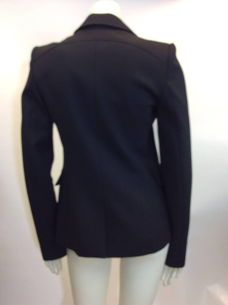 Women's Balenciaga Black Blazer For Sale