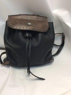 Ralph Lauren Two Tone Embellished Backpack