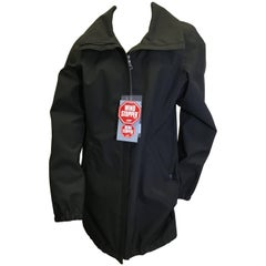 Prada Black NWT Wind Breaker Jacket