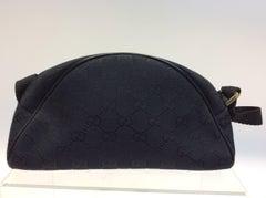 Gucci Black Monogram Small Clutch